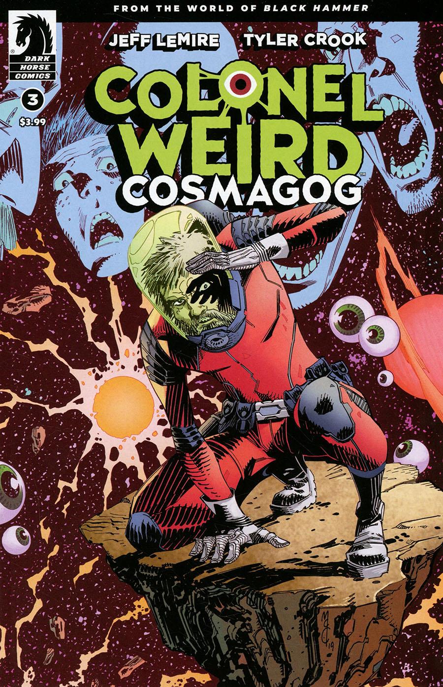 Colonel Weird Cosmagog #3 Cover B Variant John McCrea & Mike Spicer Cover