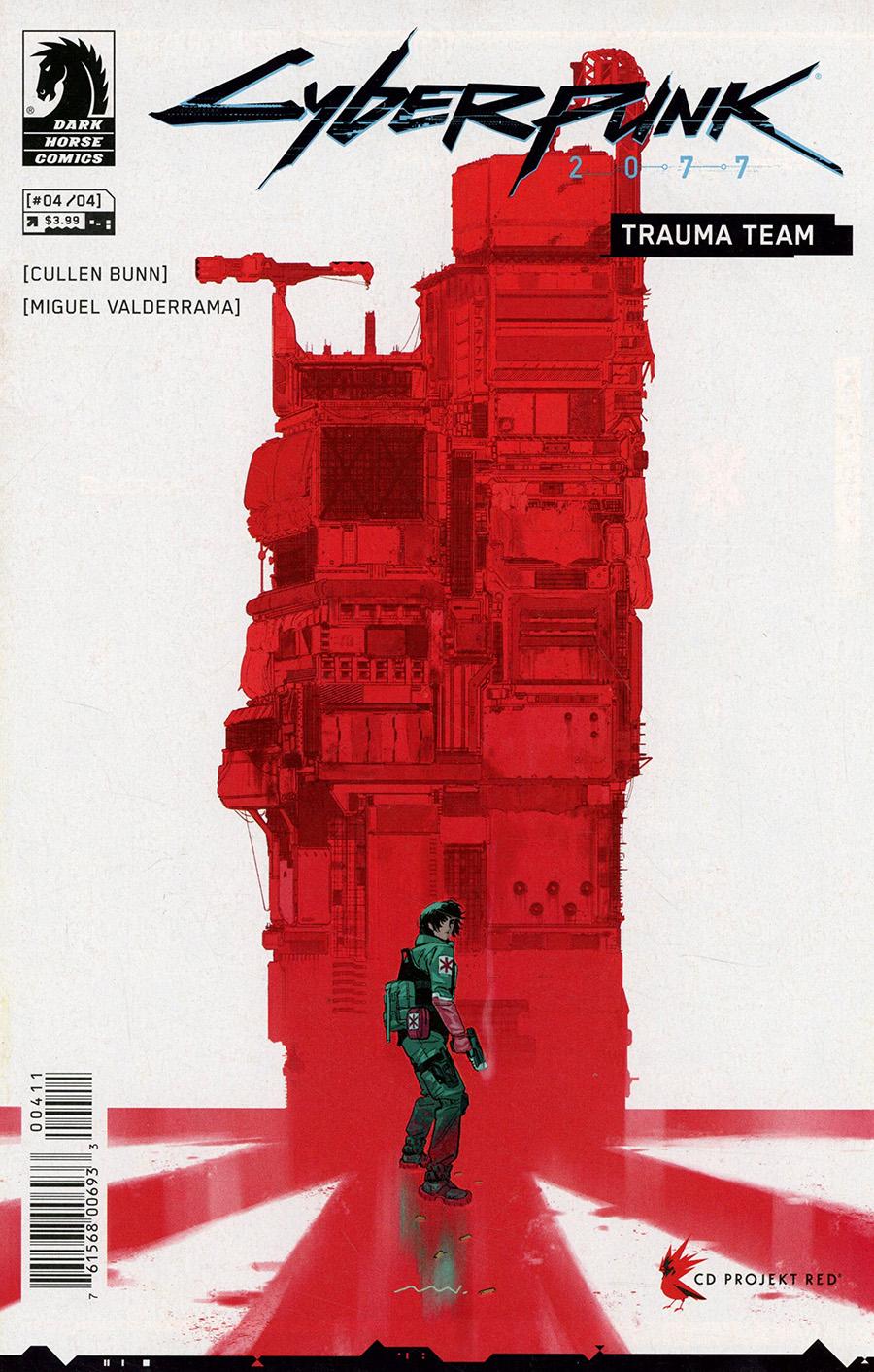 Cyberpunk 2077 Trauma Team #4