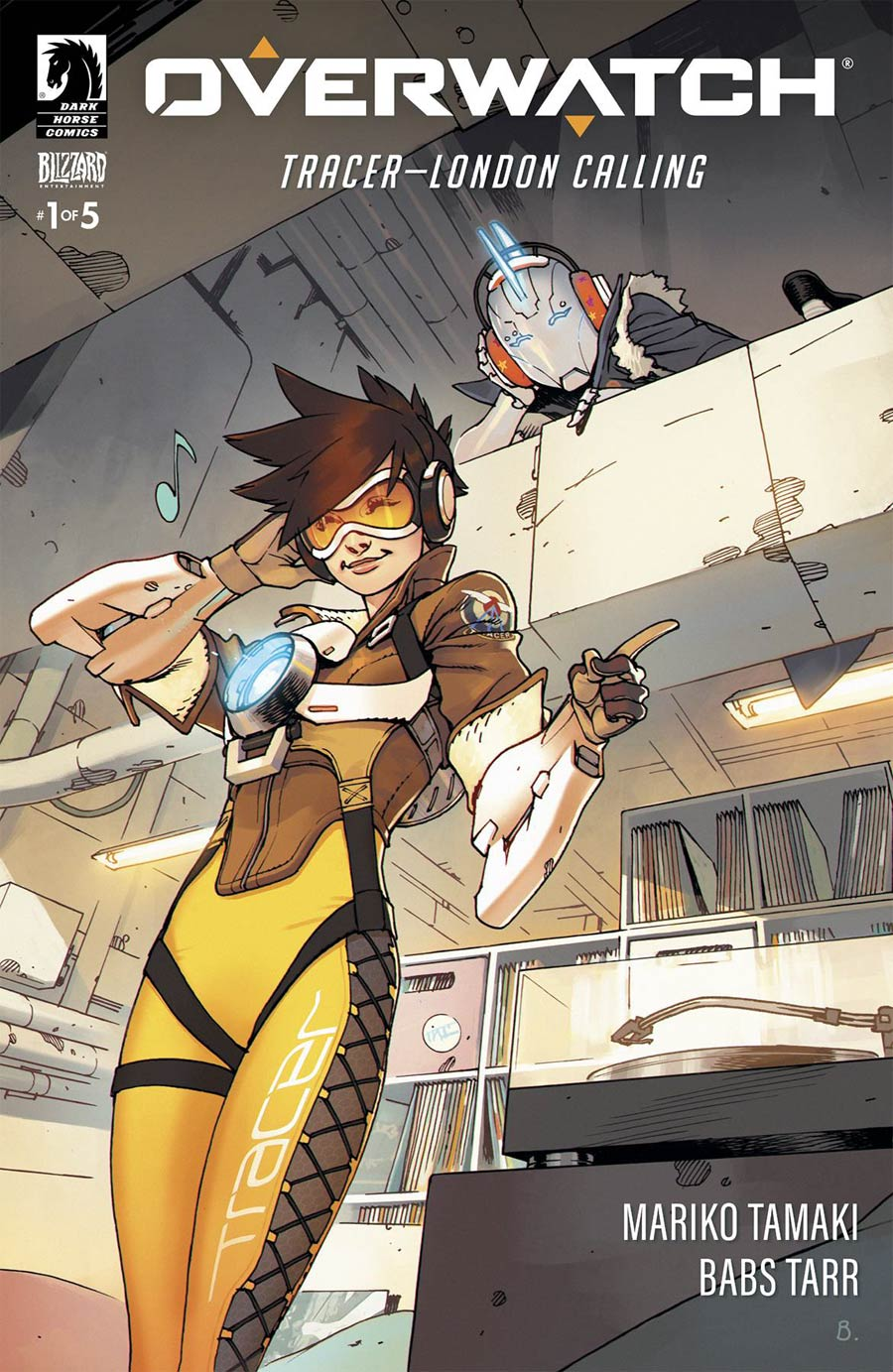 Overwatch Tracer London Calling #1 Cover A Regular Bengal Cover