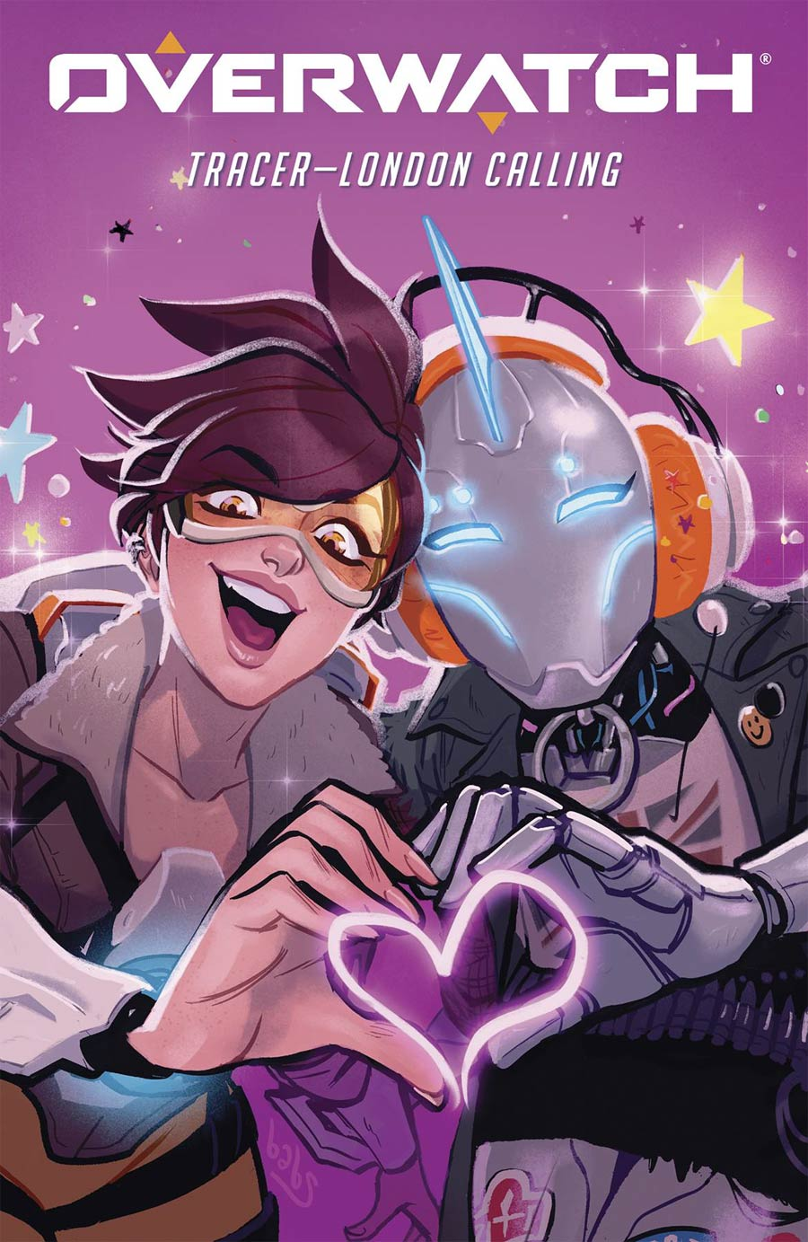 Overwatch Tracer London Calling #1 Cover B Variant Babs Tarr Cover