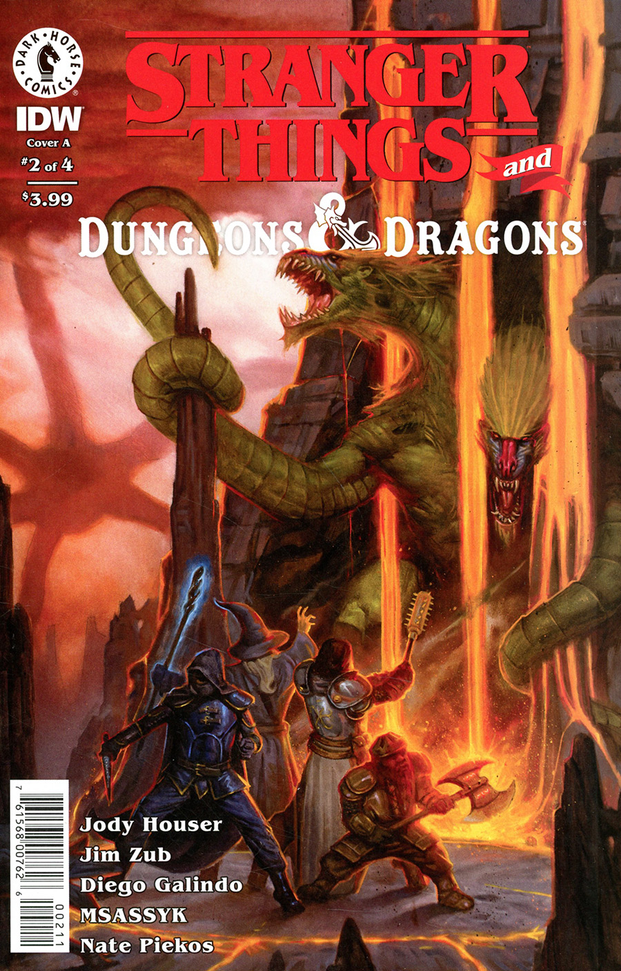 Stranger Things And Dungeons & Dragons #2 Cover A Regular EM Gist Cover
