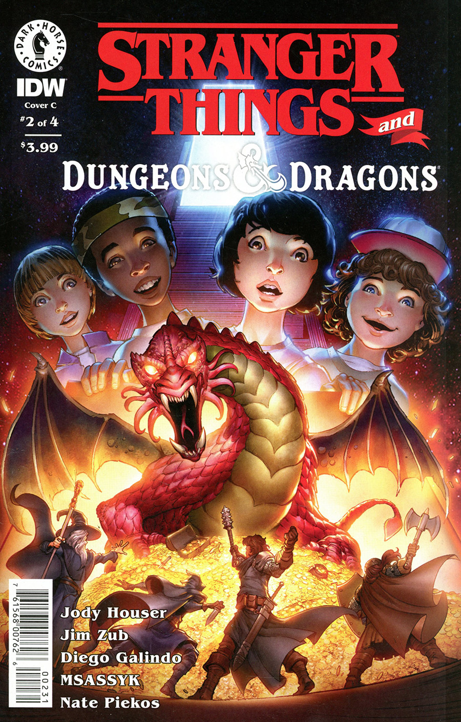 Stranger Things And Dungeons & Dragons #2 Cover C Variant Max Dunbar Cover