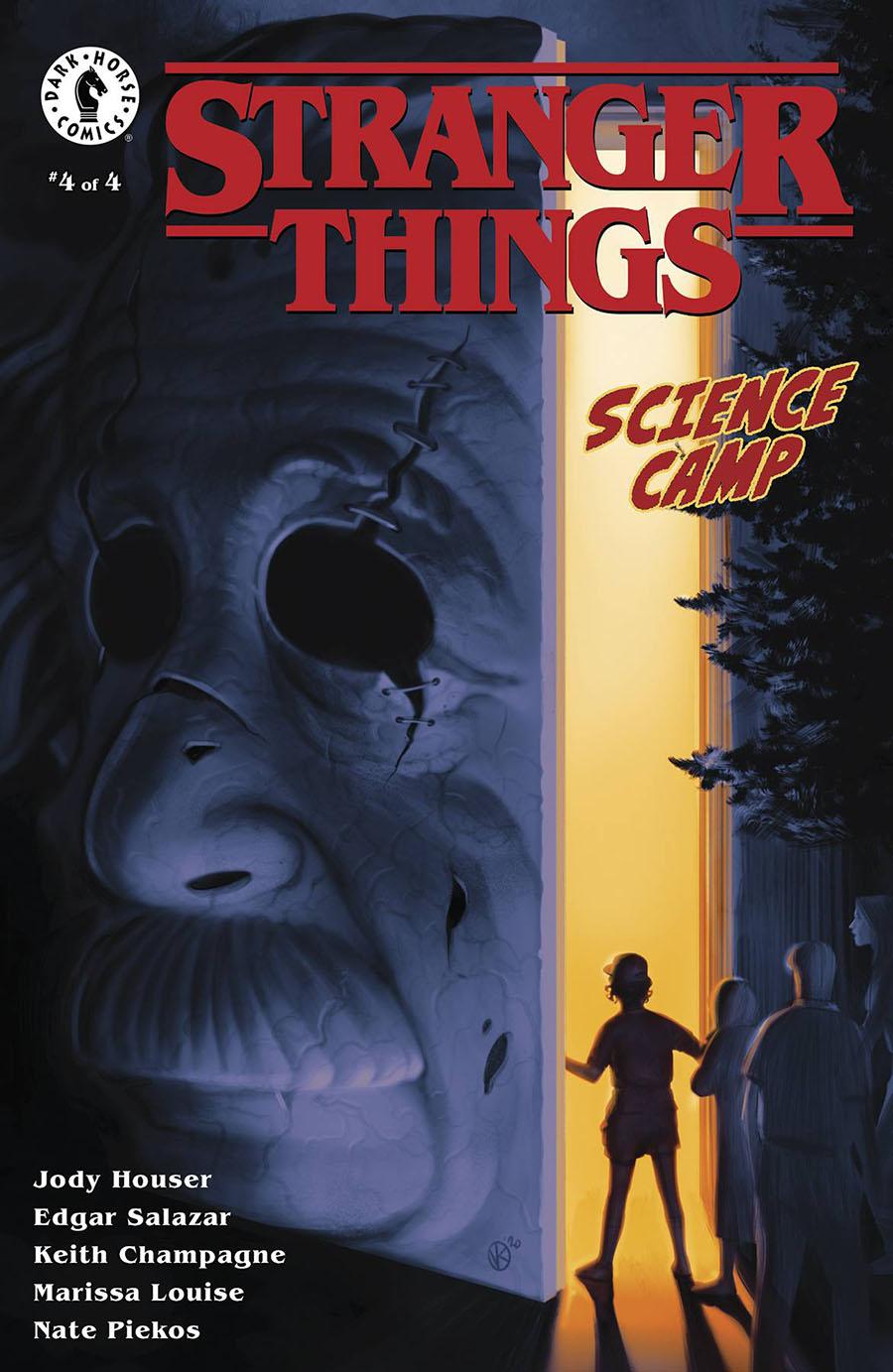Stranger Things Science Camp #4 Cover A Regular Viktor Kalvachev Cover