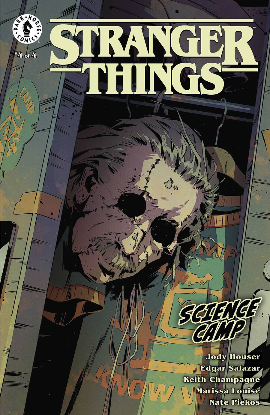 Stranger Things Science Camp #4 Cover C Variant Pius Bak Cover
