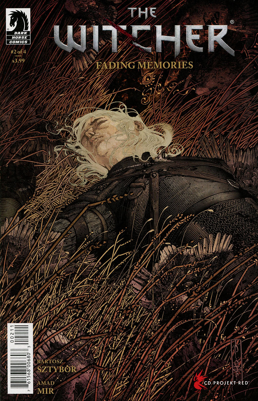Witcher Fading Memories #2 Cover A Regular Evan Cagle Cover