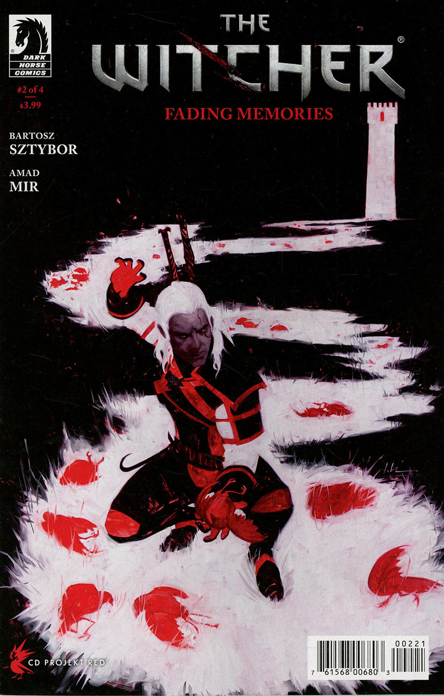 Witcher Fading Memories #2 Cover B Variant Jeremy Wilson Cover