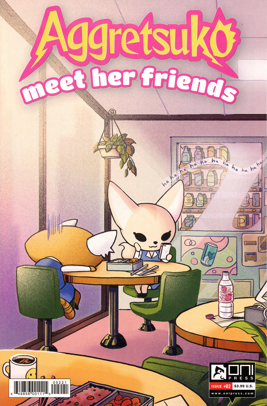 Aggretsuko Meet Her Friends #2 Cover B Variant Arielle Jovellanos Cover