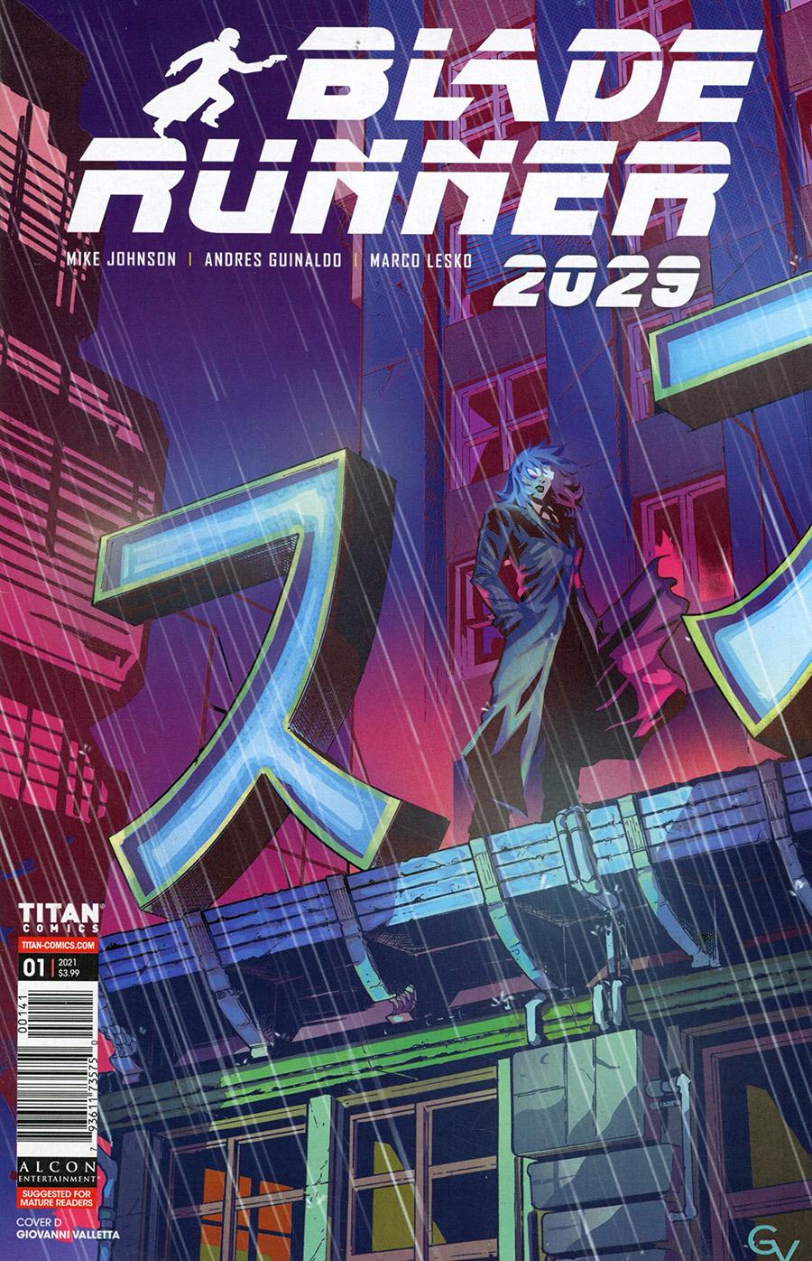 Blade Runner 2029 #1 Cover D Variant Giovanni Valletta Cover