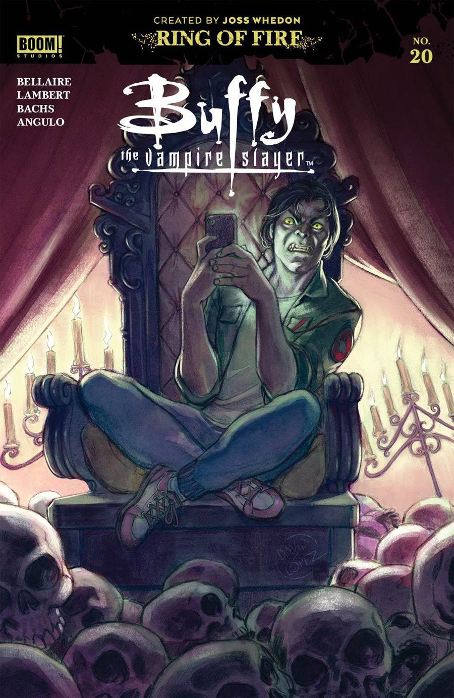 Buffy The Vampire Slayer Vol 2 #20 Cover A Regular David Lopez Cover