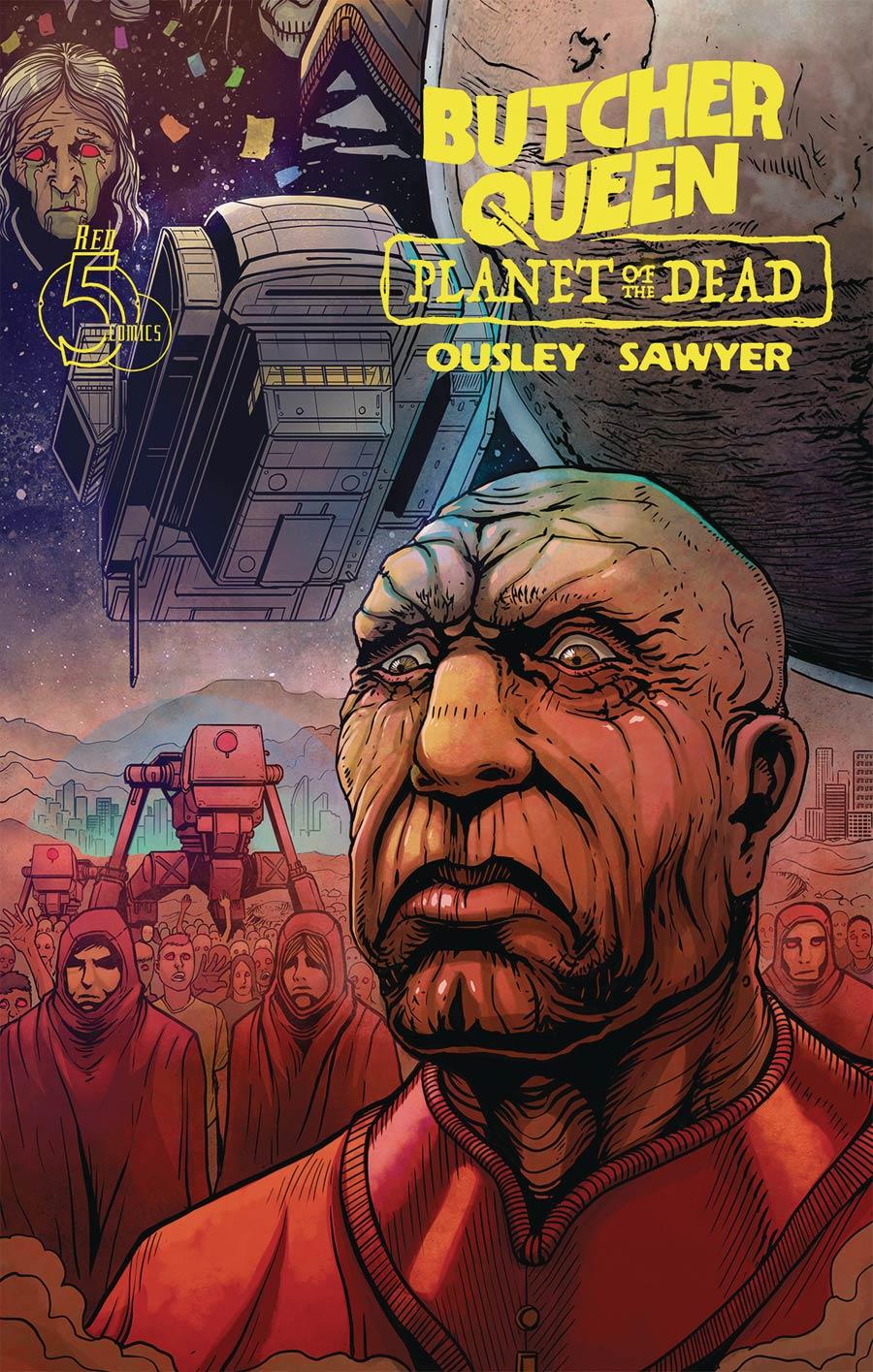 Butcher Queen Planet Of The Dead #3