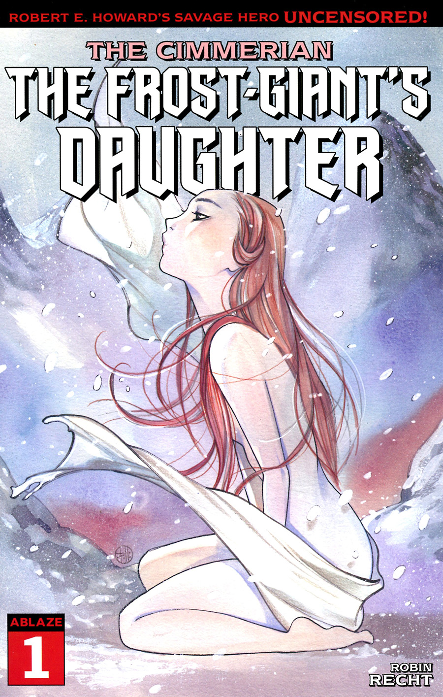 Cimmerian Frost-Giants Daughter #1 Cover A Regular Peach Momoko Cover