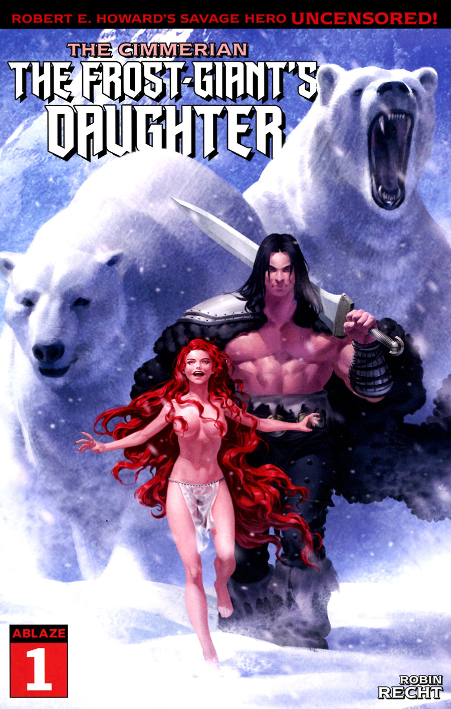 Cimmerian Frost-Giants Daughter #1 Cover B Variant Junggeun Yoon Cover