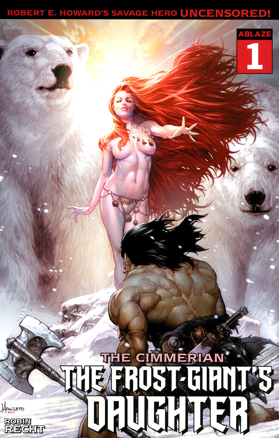 Cimmerian Frost-Giants Daughter #1 Cover C Variant Jay Anacleto Cover