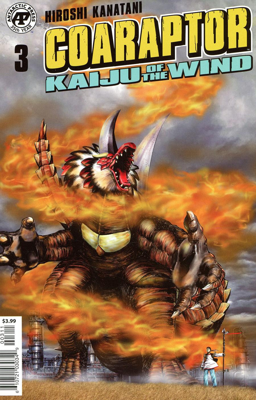 Coaraptor #3 Kaiju Of The Wind Cover A Regular Cover