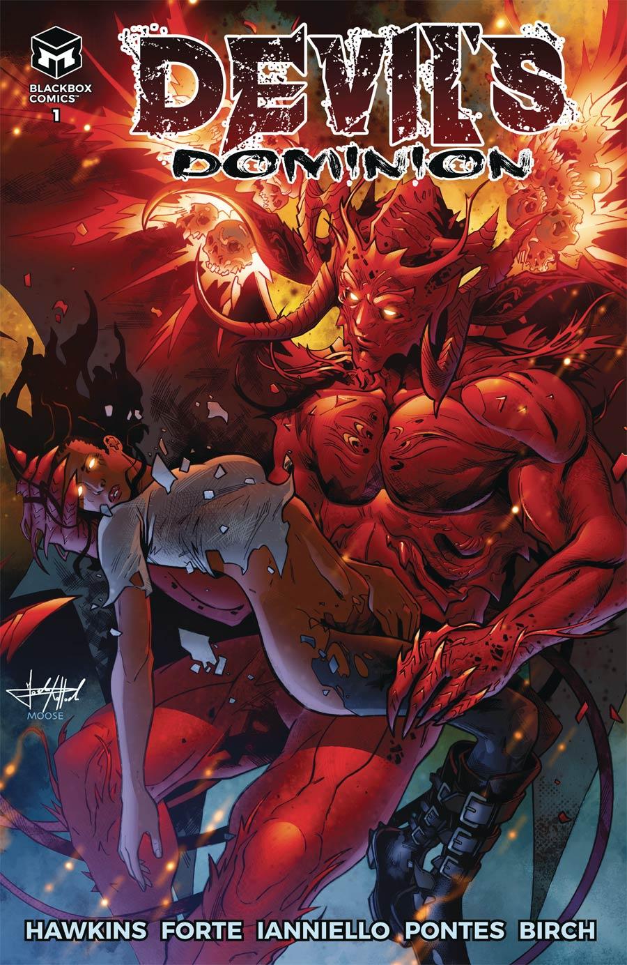 Devils Dominion #1 Cover A Regular Raffaele Forte Cover