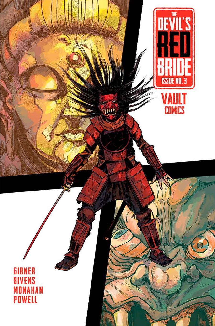 Devils Red Bride #3 Cover A Regular John Bivens Cover