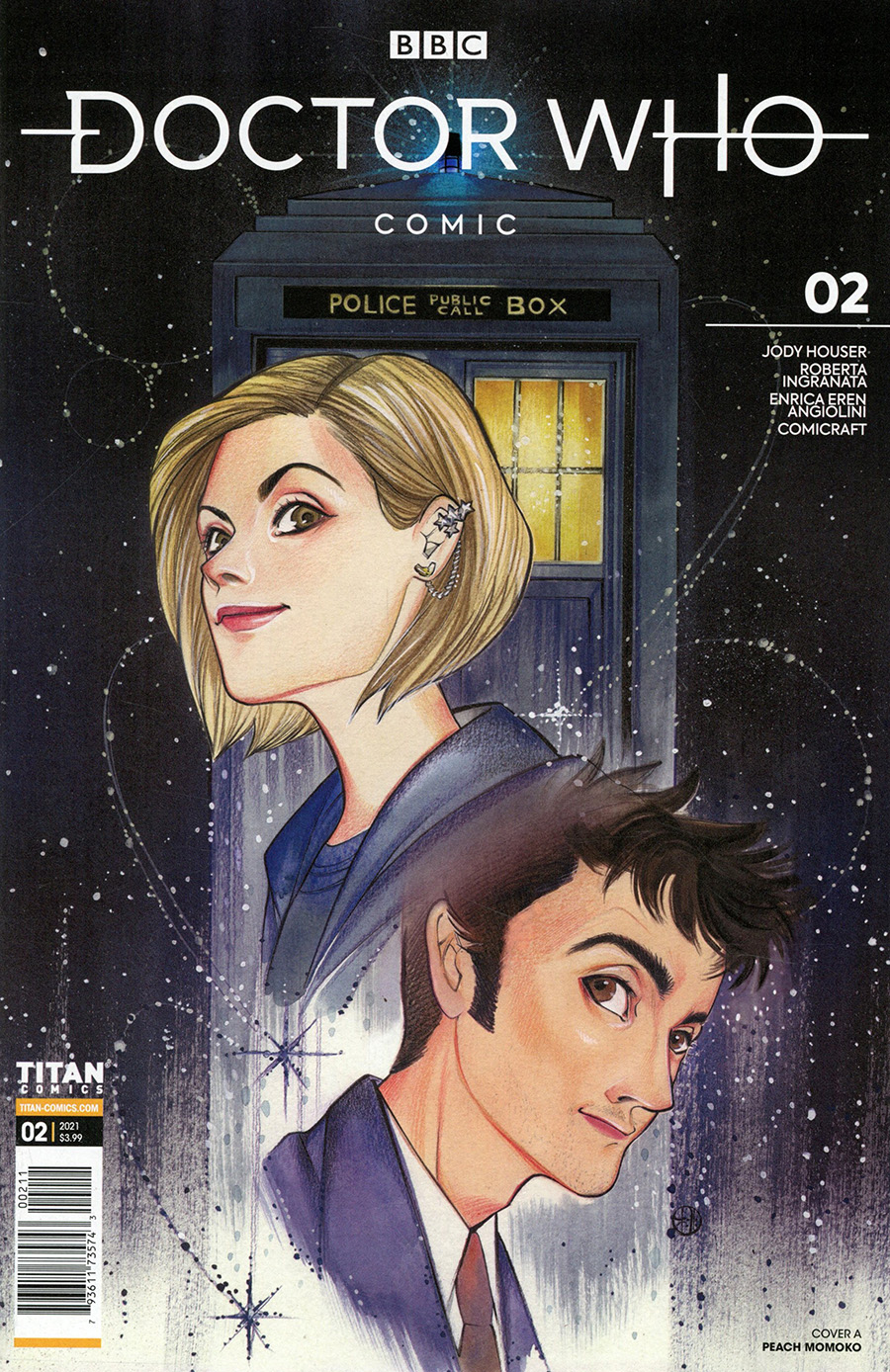 Doctor Who Comic #2 Cover A Regular Peach Momoko Cover
