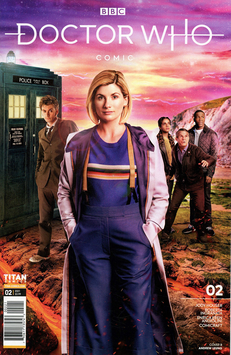 Doctor Who Comic #2 Cover B Variant Photo Cover