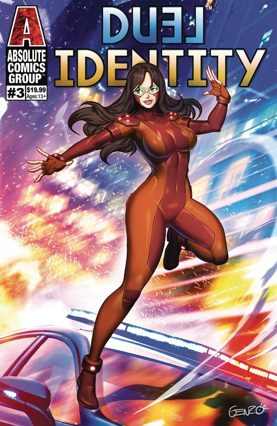 Duel Identity #3 Cover C Variant Genzoman Lenticular Cover