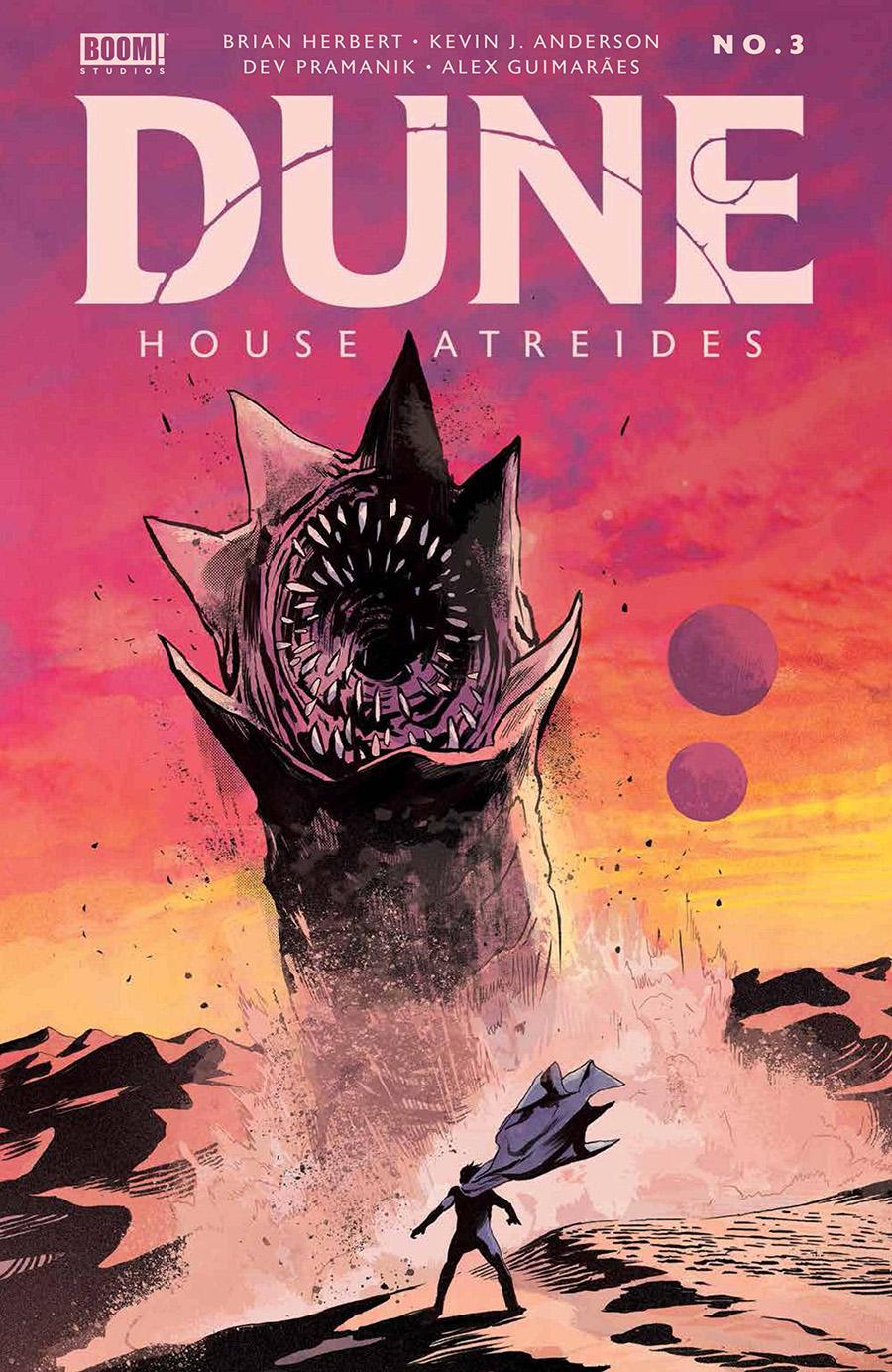 Dune House Atreides #3 Cover A Regular Michael Walsh