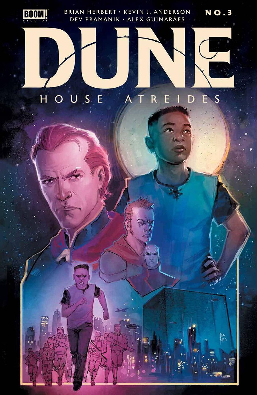Dune House Atreides #3 Cover B Variant Rod Reis Cover