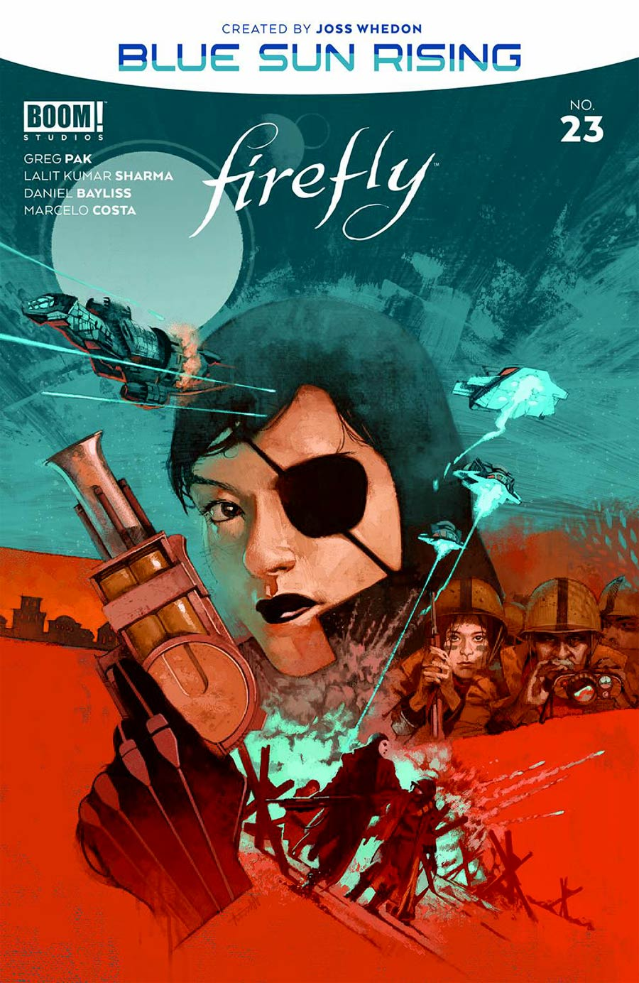 Firefly #23 Cover A Regular Marc Aspinall Cover