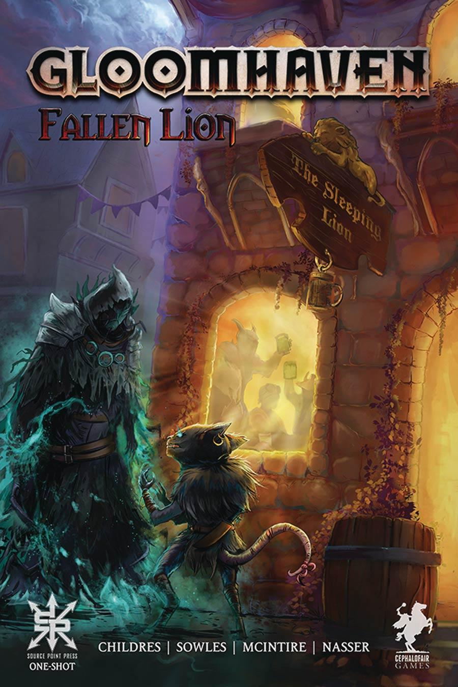 Gloomhaven Fallen Lion One Shot