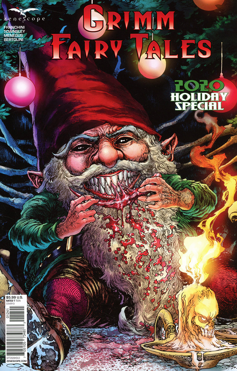 Grimm Fairy Tales 2020 Holiday Special Cover D Harvey Tolibao