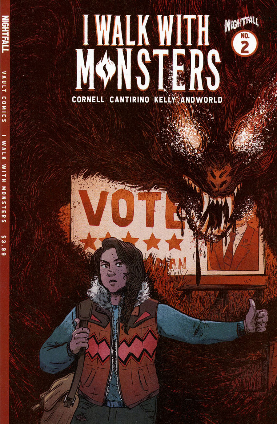 I Walk With Monsters #2 Cover A Regular Sally Cantirino Cover