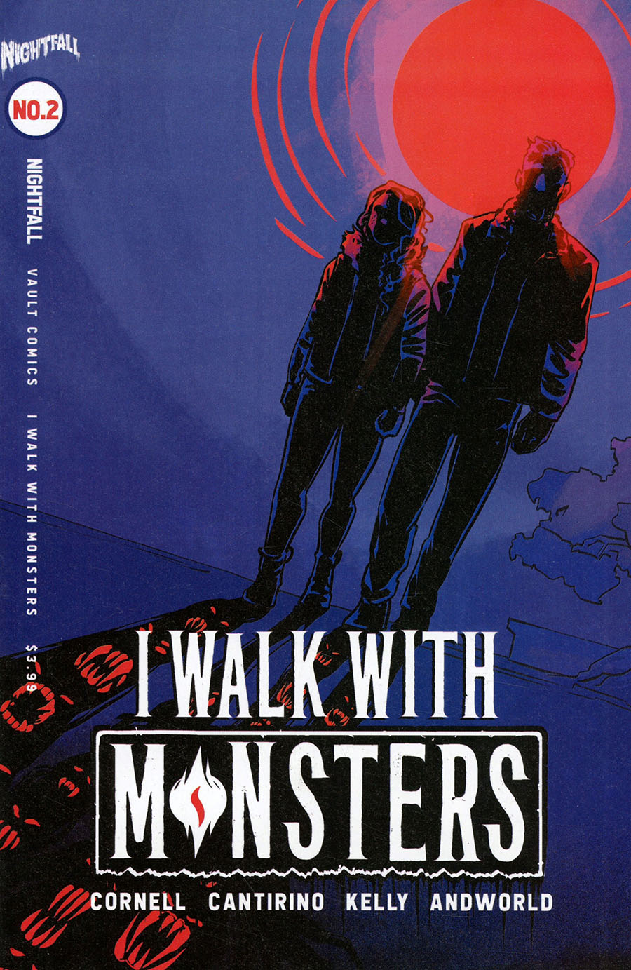I Walk With Monsters #2 Cover B Variant Jen Hickman Cover