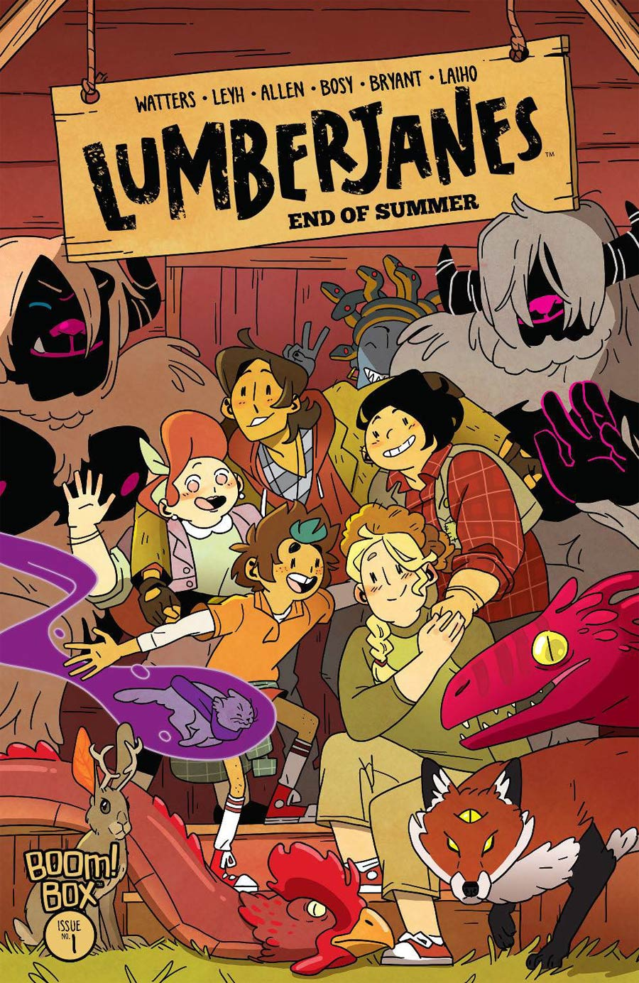 Lumberjanes End Of Summer #1 Cover A Regular Kat Leyh Cover