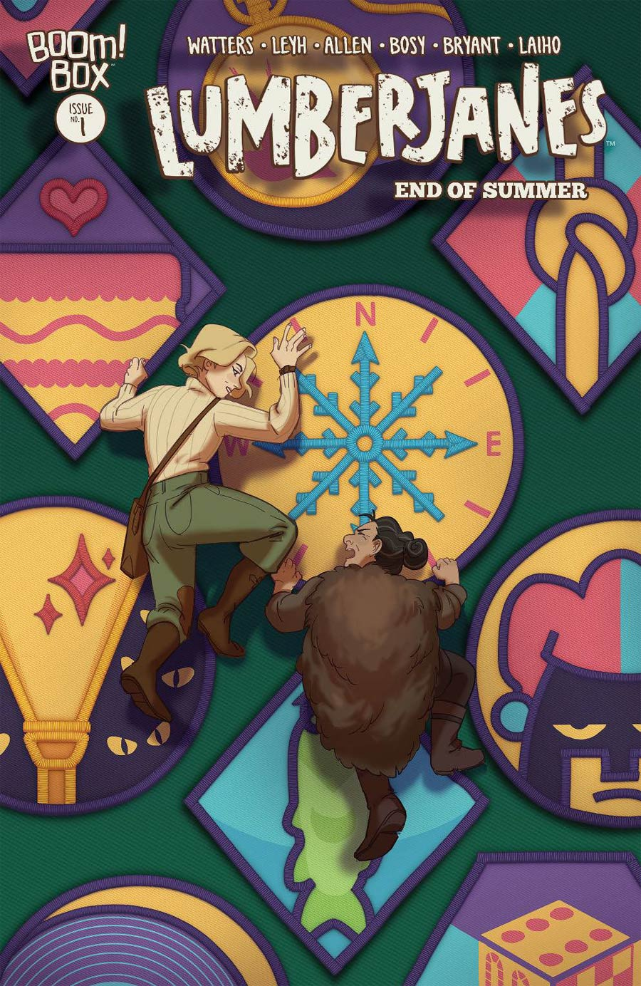 Lumberjanes End Of Summer #1 Cover B Variant Harriet Moulton Cover