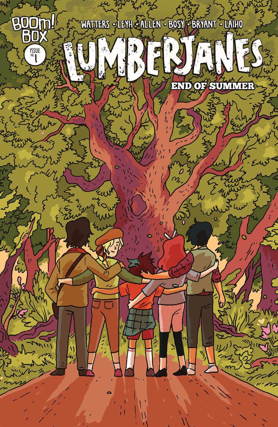 Lumberjanes End Of Summer #1 Cover C Variant Tillie Walden Cover