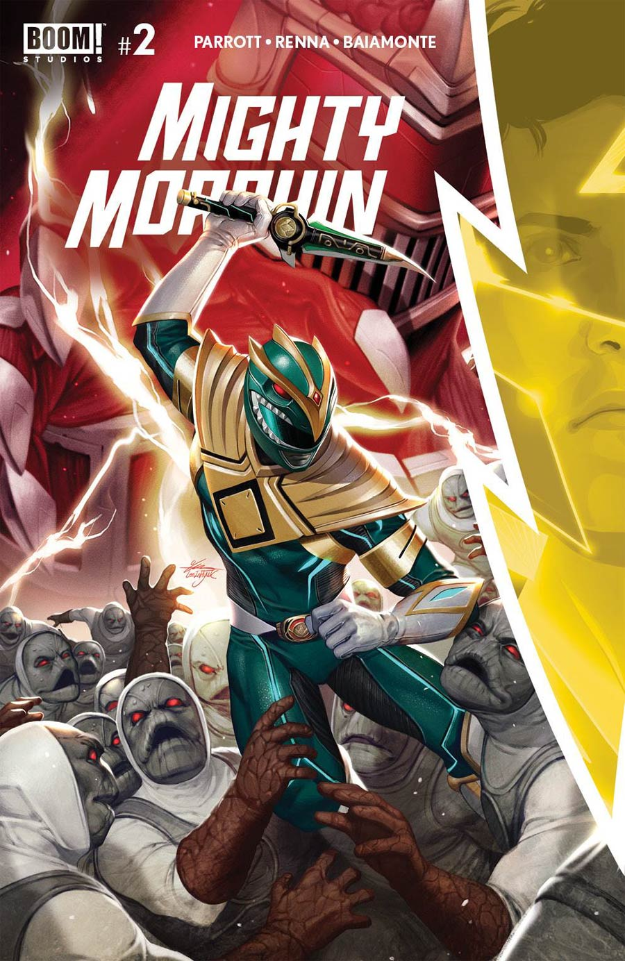 Mighty Morphin #2 Cover A 1st Ptg Regular Inhyuk Lee Cover