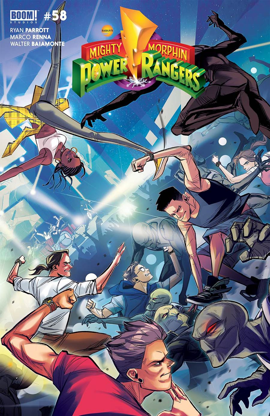 Mighty Morphin #2 Cover B Variant Eleonora Carlini Legacy Cover