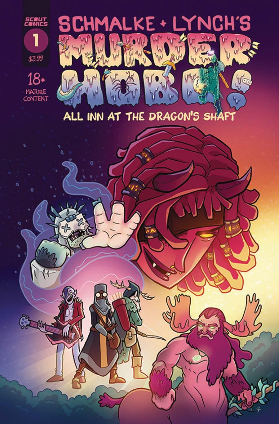 Murder Hobo All Inn At The Dragons Shaft #1 Cover A Regular Jason Lynch Cover