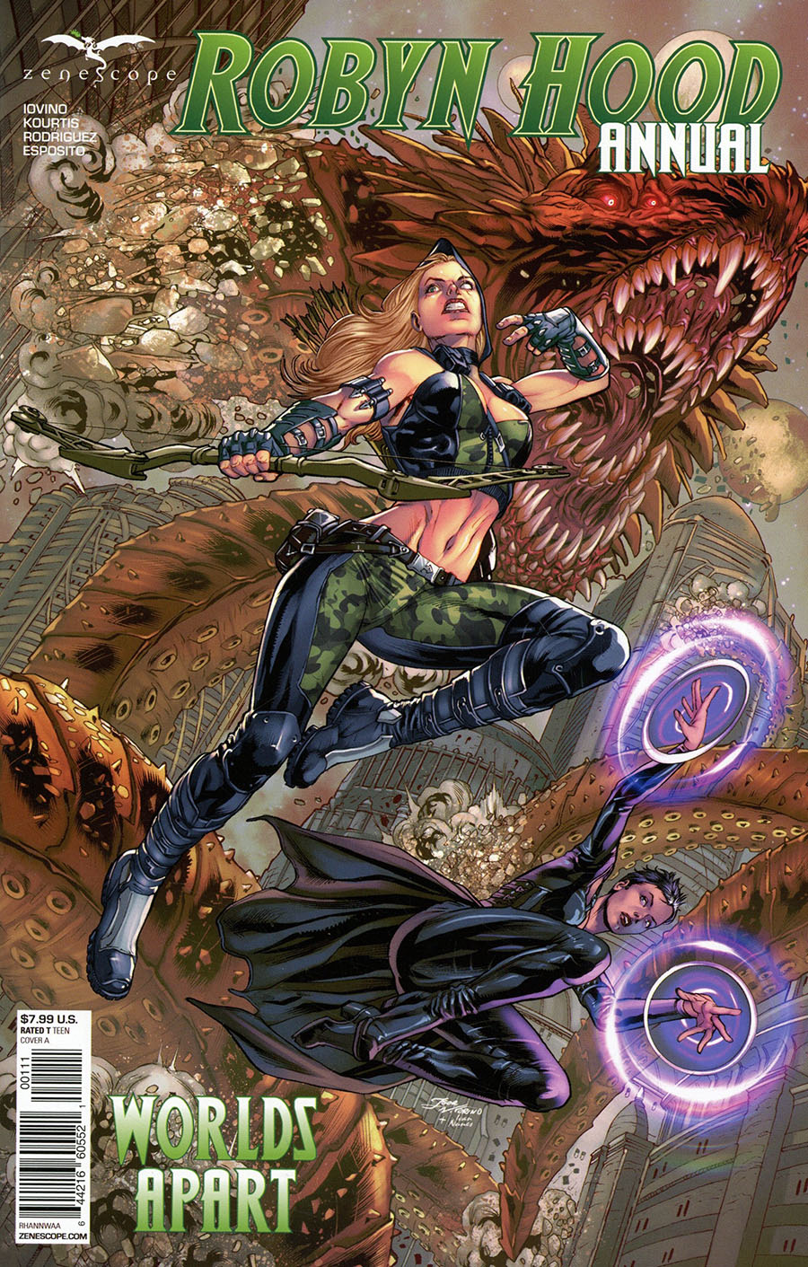 Grimm Fairy Tales Presents Robyn Hood Annual 2020 Worlds Apart Cover A Igor Vitorino