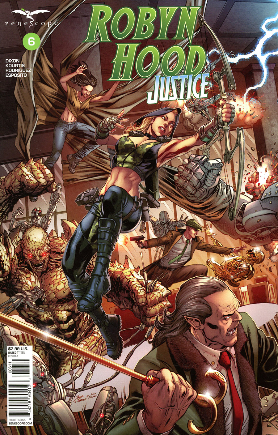 Grimm Fairy Tales Presents Robyn Hood Justice #6 Cover A Igor Vitorino Connecting