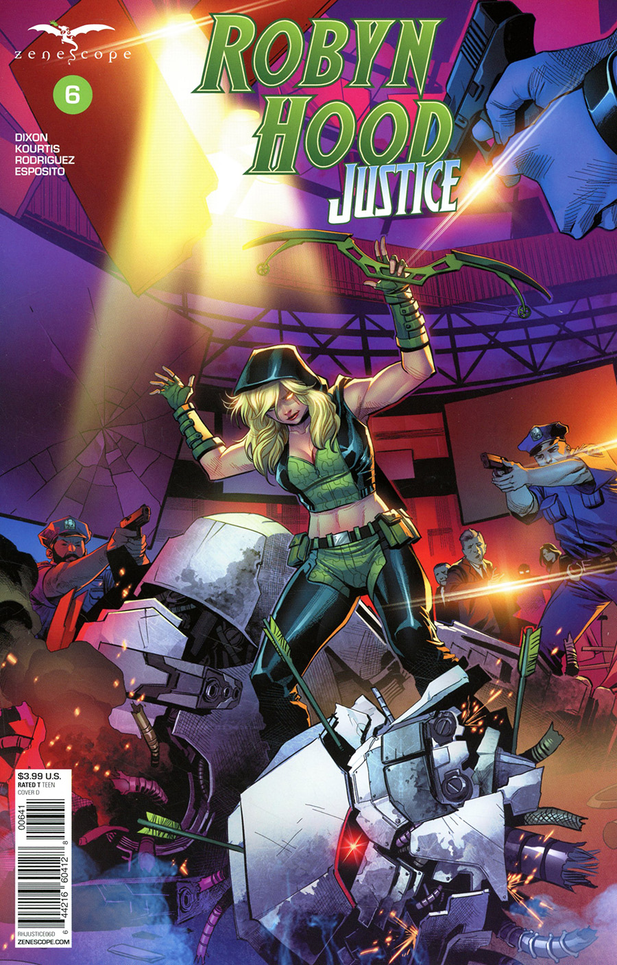 Grimm Fairy Tales Presents Robyn Hood Justice #6 Cover D Martin Coccolo