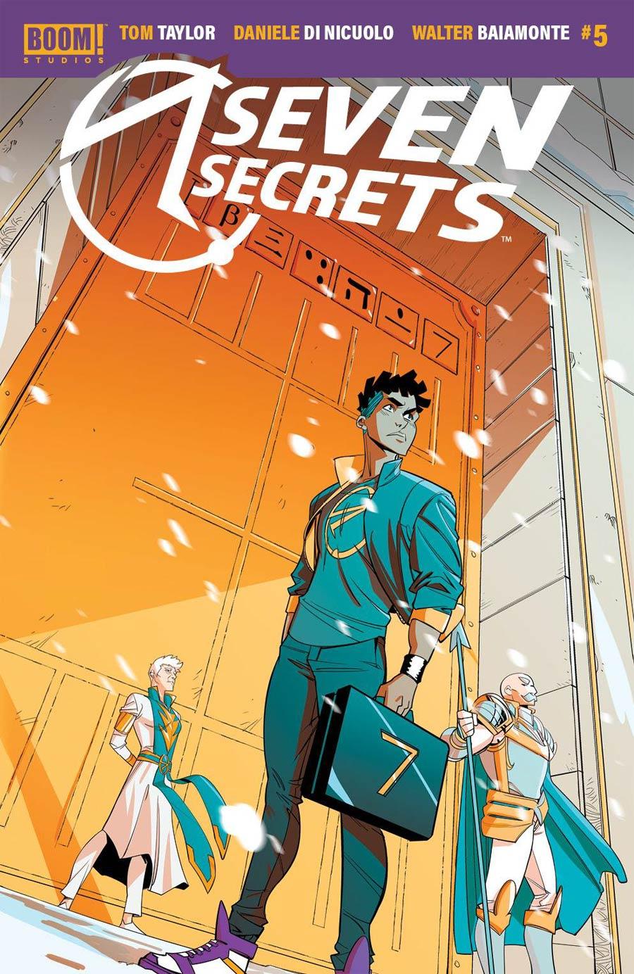 Seven Secrets #5 Cover A Regular Daniele di Nicuolo Cover