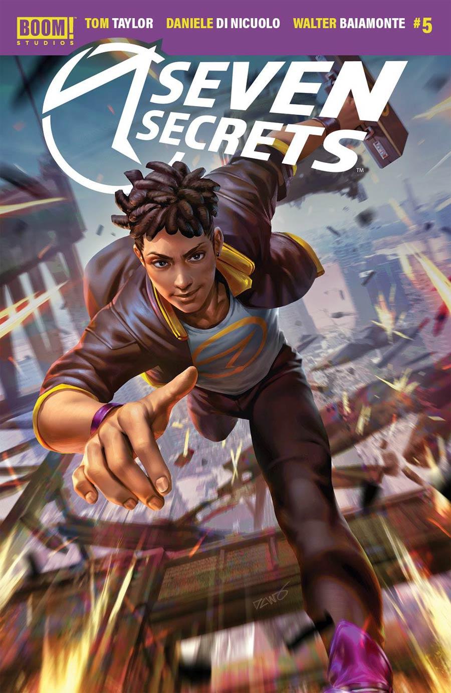 Seven Secrets #5 Cover B Variant Derrick Chew Cover
