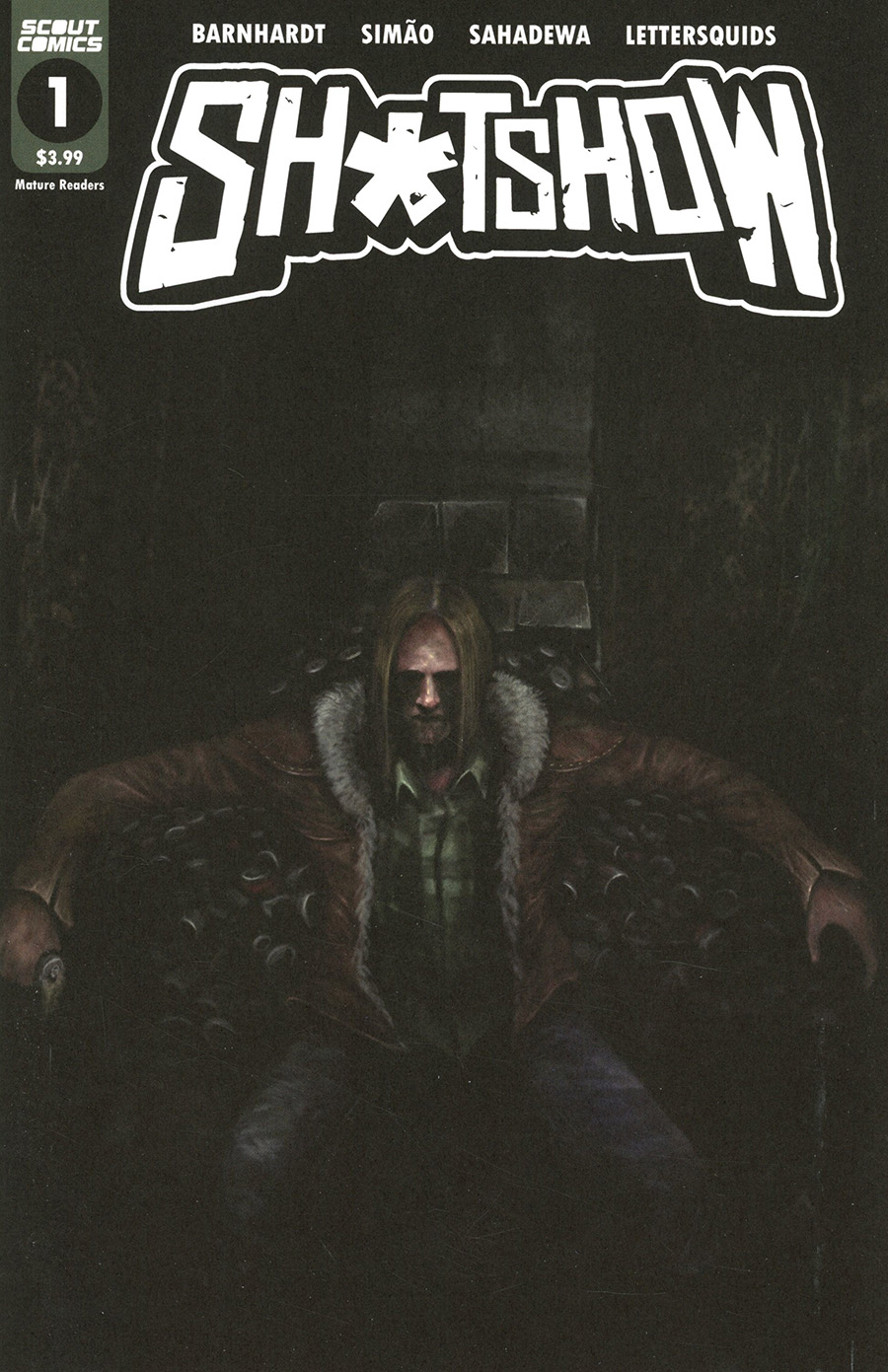 Sh*tshow #1 Cover B Variant Juan Angel Throne Of Despair Cover