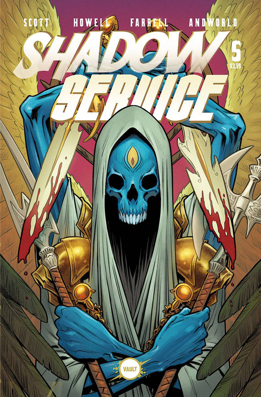 Shadow Service #5 Cover B Variant Rebekah Isaacs Cover
