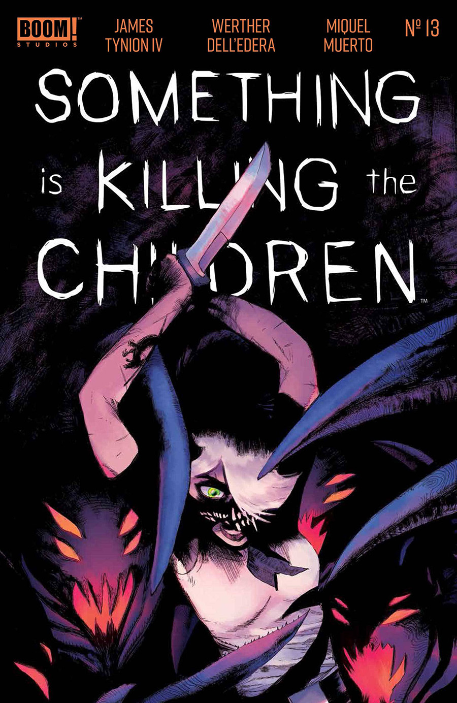 Something Is Killing The Children #13 Cover A Regular Werther Dell Edera Cover