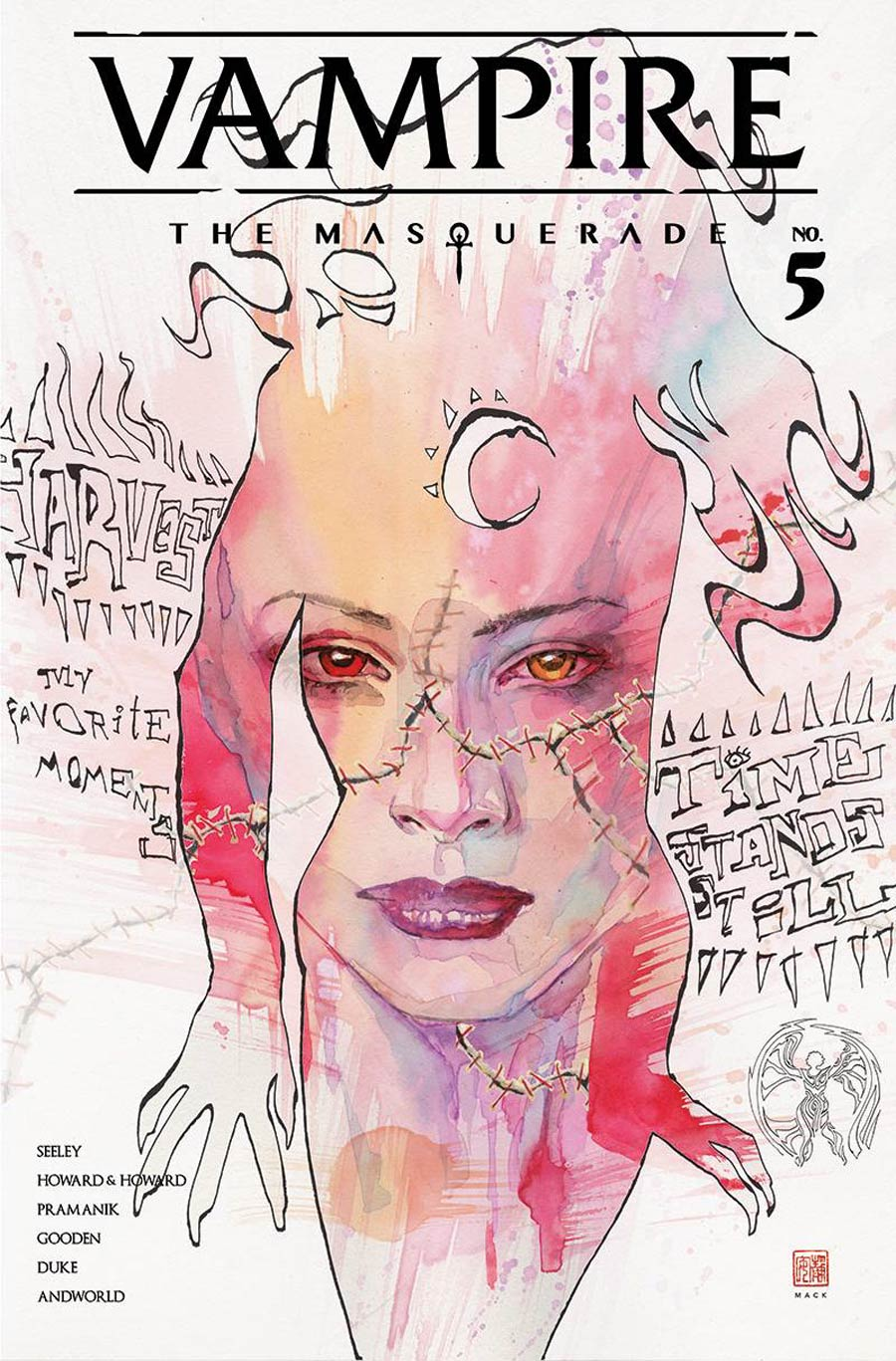 Vampire The Masquerade #5 Cover B Variant David Mack Cover
