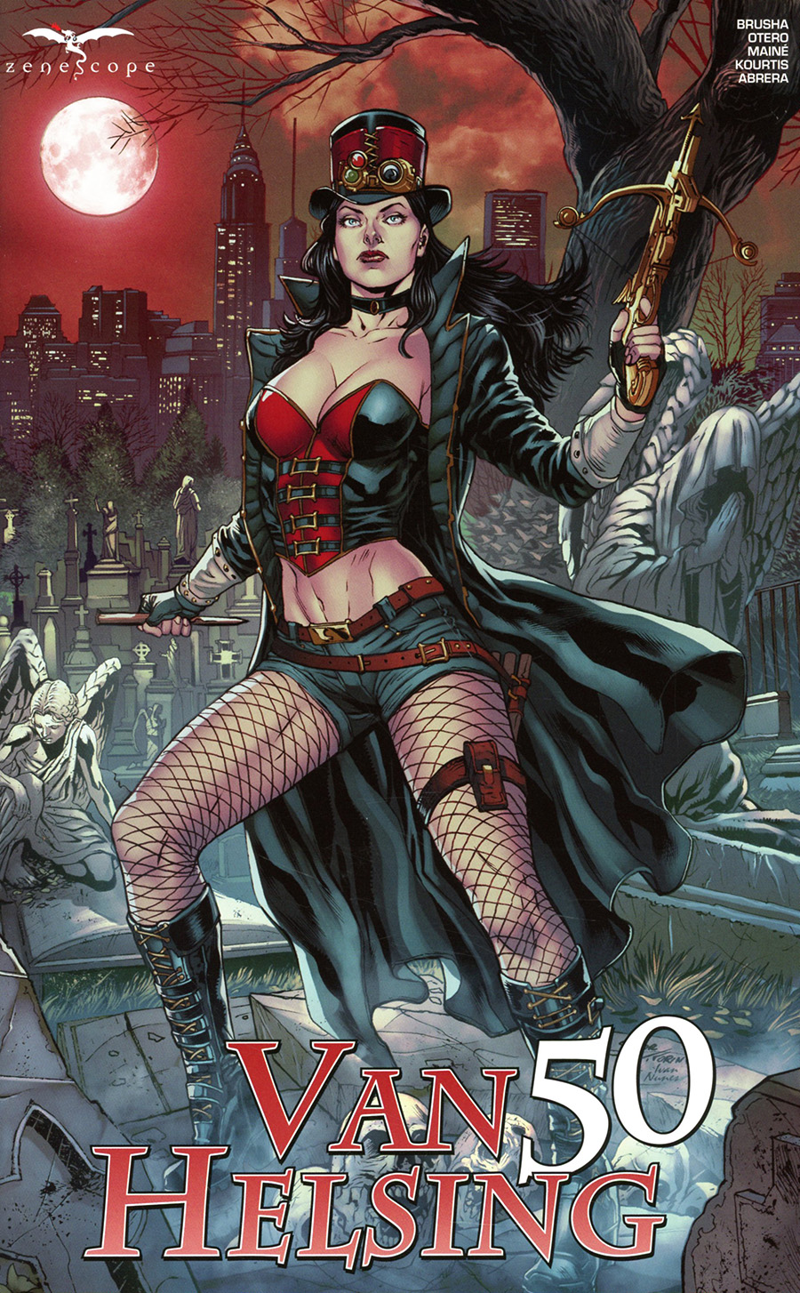 Grimm Fairy Tales Presents Van Helsing #50 Cover A Igor Vitorino