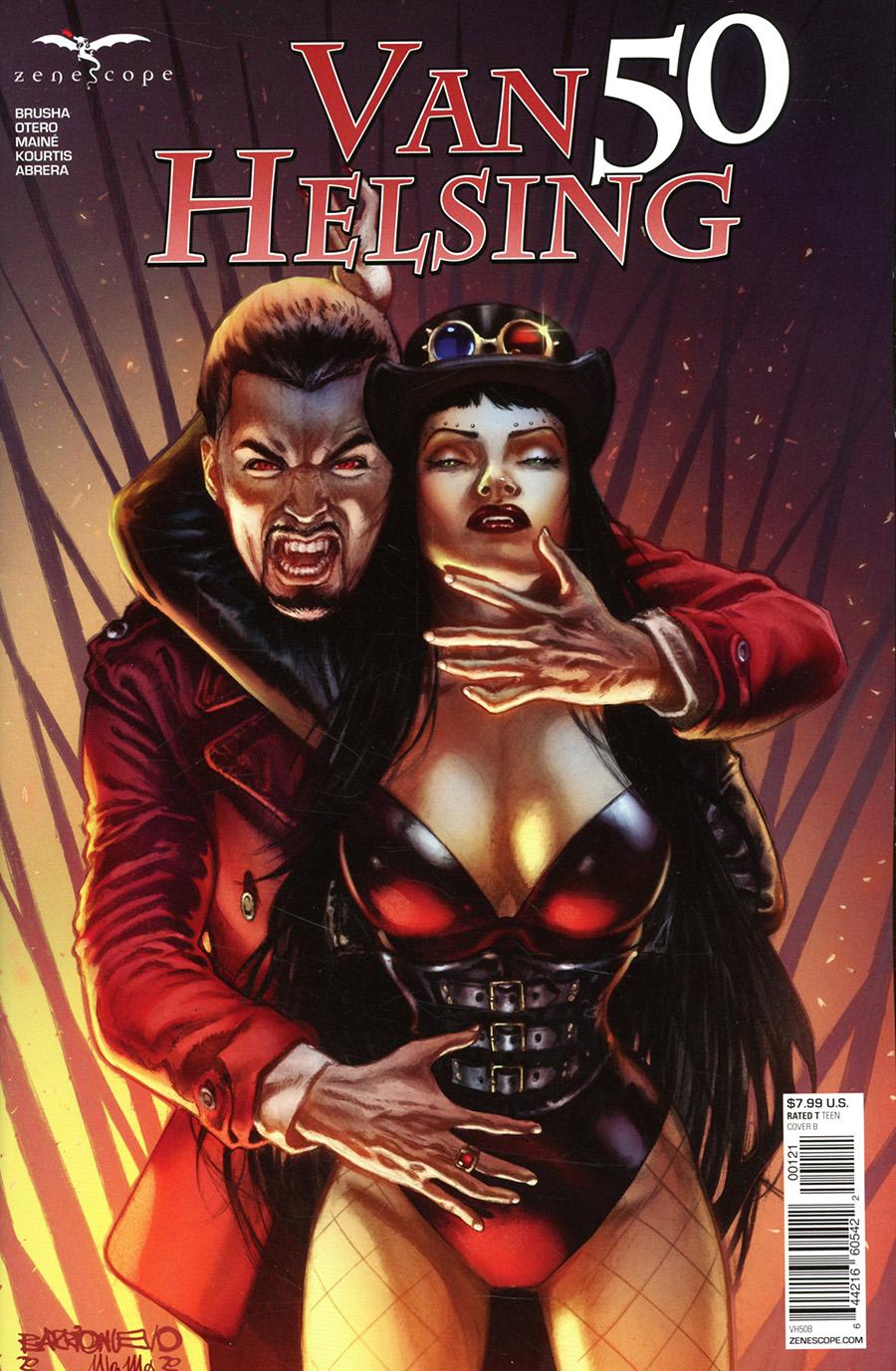 Grimm Fairy Tales Presents Van Helsing #50 Cover B Al Barrionuevo