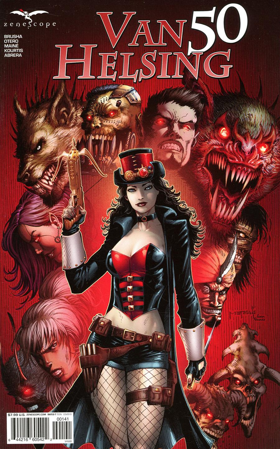 Grimm Fairy Tales Presents Van Helsing #50 Cover D Jason Metcalf