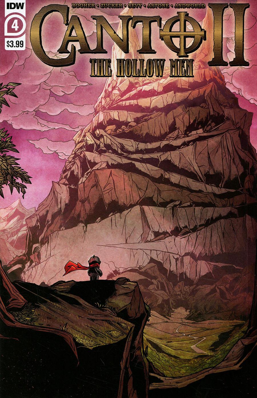 Canto II Hollow Men #4 Cover A Regular Drew Zucker Cover