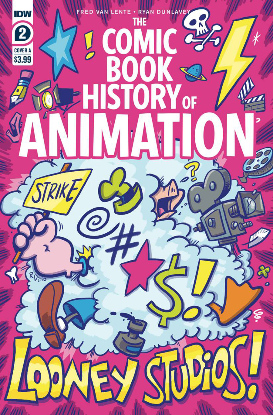 Comic Book History Of Animation #2 Cover A Regular Ryan Dunlavey Cover